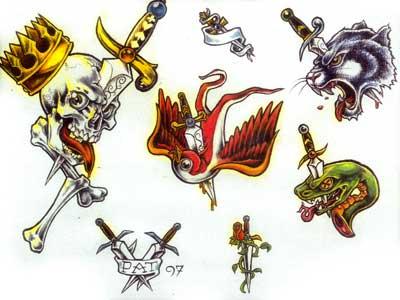 Tattoo design celtic shamrock tattoo for Ink craft tattoo